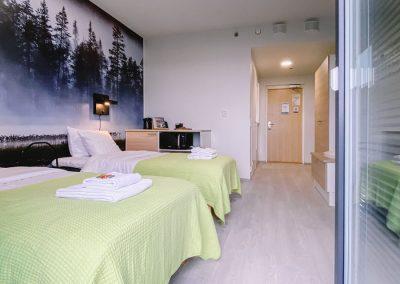 Hotellin 2-hengen huone